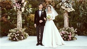 Những khoảnh khắc đáng nhớ trong 'đám cưới thế kỷ' của Song Joong Ki và Song Hye Kyo