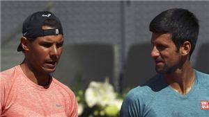 Tennis ngày 12/5: Djokovic đợi Nadal tại Bán kết Madrid Open. Huyền thoại quần vợt 'giải vây' cho Sharapova