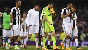 Thua Real Madrid, Juventus mãi chỉ là 'kẻ về nhì vĩ đại'