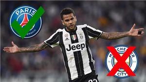 Lộ lý do Dani Alves 'lật kèo' vào phút chót với Pep Guardiola để gia nhập PSG