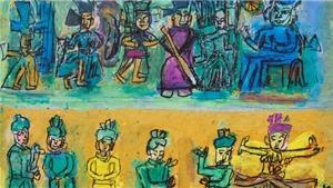Chùm tranh 'Tưởng như còn đây' của danh họa Nguyễn Tư Nghiêm