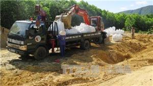 Phạt Formosa Hà Tĩnh và công ty môi trường đô thị Kỳ Anh trên 1 tỷ vụ chôn chất thải nguy hại