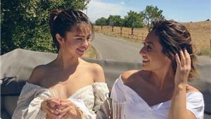 Selena Gomez tươi tắn xuất hiện sau khi ghép thận của bạn thân