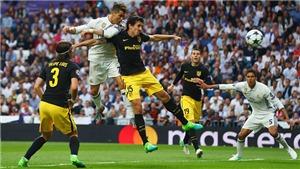 Ronaldo đã được trọng tài 'tặng' bàn mở tỷ số ở trận thắng Atletico