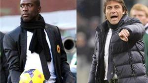 Conte gặp Seedorf: Ngày 'võ sư' đối đầu 'chuyên gia tâm lý'