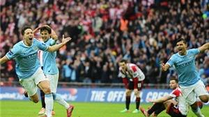 VIDEO: Nasri của Man City sút mà ngoài điệu nghệ, ghi bàn vào lưới Sunderland
