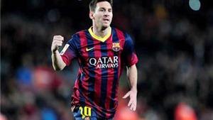 Lionel Messi: Hoàn hảo cả ở những cú sút phạt