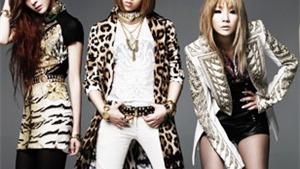 2NE1 lập kỷ lục K-pop trên BXH Billboard