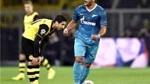Dortmund thất bại trước Zenit: Chiếc vé không hi vọng