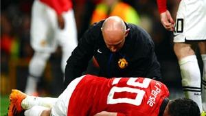 Van Persie nghỉ gần hết mùa vì chấn thương đầu gối: Vận rủi và cơ hội của Moyes United