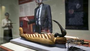 Xác ướp động vật từ thời Ai Cập trưng bày tại bảo tàng California