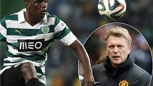 Những điều cần biết về William Carvalho, mục tiêu mới nhất của Man United