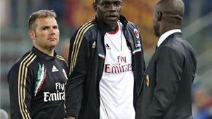 Bị quát mắng, Seedorf vẫn bênh vực Balotelli