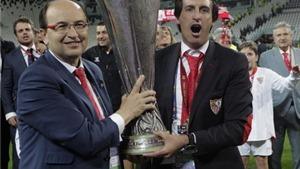 Unai Emery: 'Tôi tự hào về Sevilla'
