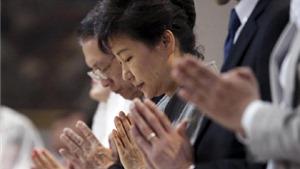 Tổng thống Hàn Quốc xin lỗi người dân vì thảm kịch chìm phà