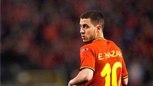 Eden Hazard: 'Messi' của tuyển Bỉ