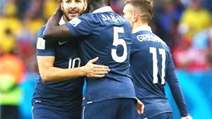 Pháp 3-0 Honduras: Chênh lệch đẳng cấp