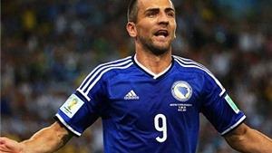 Ibisevic ghi bàn thắng lịch sử cho Bosnia & Herzegovina