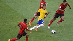 Lần đầu tiên ở World Cup, Brazil không thể ghi bàn và thắng Mexico
