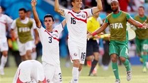 Costa Rica 1-0 Italy: Costa Rica giành vé, loại Anh, đẩy Italy và Uruguay vào cuộc chiến sinh tử