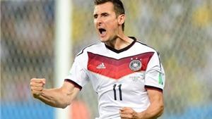 Ronaldo gửi lời chúc mừng tới Klose