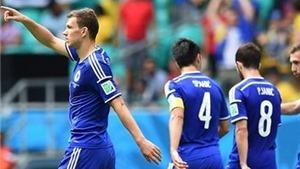 Bosnia & Herzegovina 3-1 Iran: Dzeko và Pjanic ngẩng cao đầu rời World Cup