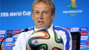 Klinsmann chỉ trích sự lựa chọn trọng tài cho trận Bỉ - Mỹ