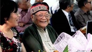 Nhà văn Tô Hoài những năm tháng cuối đời trên giường bệnh