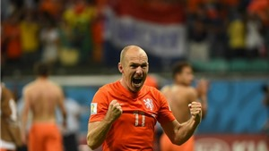 Scolari ca ngợi Robben xuất sắc nhất World Cup