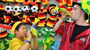 Trung Quốc thắng lớn ở World Cup