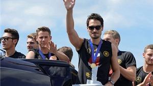 CHÙM ẢNH: Tuyển Đức ăn mừng chức vô địch thế giới tại Berlin