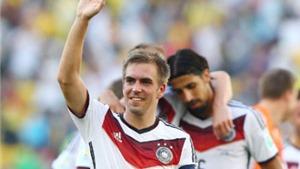 SỐC: Philipp Lahm giã từ đội tuyển quốc gia Đức