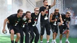 Chủ tịch LĐBĐ Đức xin lỗi Argentina về điệu nhảy 'chăn bò'