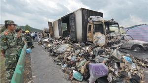Gần 40 người thiệt mạng trong vụ tai nạn thảm khốc ở Trung Quốc
