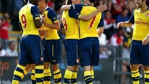 Olsson và Afobe lập công, Arsenal hạ Boreham Wood 2-0