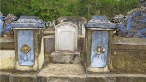 Quạnh quẽ mộ hậu tổ tuồng Đào Tấn