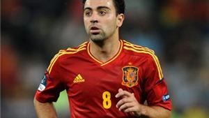 Xavi từ giã đội tuyển Tây Ban Nha