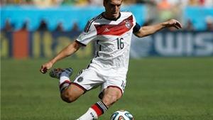 Lahm bác bỏ khả năng trở lại tuyển Đức