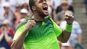 Tsonga đánh bại Murray, Serena Williams vượt qua Caroline Wozniacki
