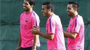 VIDEO: Buổi tập đầu tiên của Luis Suarez ở Barca