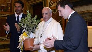 Messi, Maradona, Neymar, Roberto Baggio... được Giáo hoàng mời thi đấu vì dải Gaza