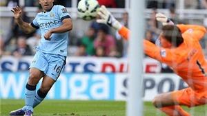 VIDEO: David Silva và Aguero nổ súng, Man City thắng Newcastle 2-0