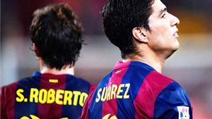 Chùm ảnh: Luis Suarez ra mắt nhạt nhòa, Barca vẫn đại thắng