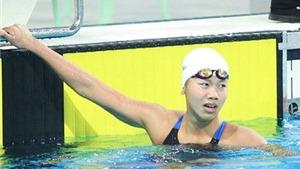 Olympic trẻ Nam Kinh 2014: Ánh Viên tuột huy chương ở nội dung 'tủ'