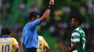 Nani ra mắt đội bóng mới: Đá hỏng penalty, nhận thẻ vàng và bị thay ra