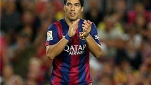 CẬP NHẬT tin chiều 24/9: Suarez bị treo giò trong FIFA 15. Đội tuyển Argentina triệu tập Messi