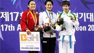 CHÙM ẢNH: Hoàng Ngân không chiến thắng được 'sức trẻ' của đối thủ Nhật Bản