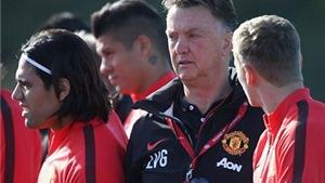 Không Rooney, Van Gaal sẽ bố trí đội hình Man United như thế nào?