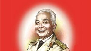 Hình ảnh  của Đại tướng Võ Nguyên Giáp trên lịch năm 2015