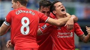QPR 2-3 Liverpool: 8 phút, 4 bàn, 2 pha phản lưới và 1 trận điên rồ